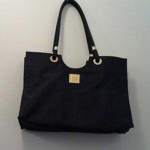 GIVENCHY Black Nylon Tote Bag.